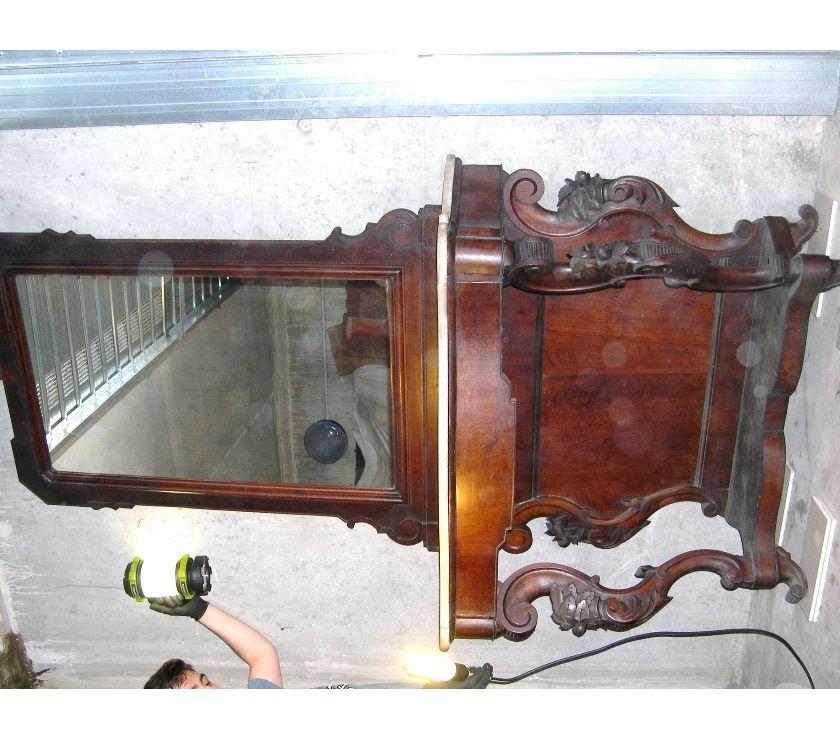 Foto di Vivastreet.it Antica consolle con specchiera Luigi Filippo in noce e marmo