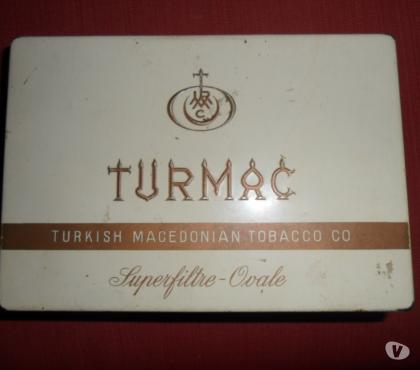 Foto di Vivastreet.it Scatola di latta Sigarette TURMAC
