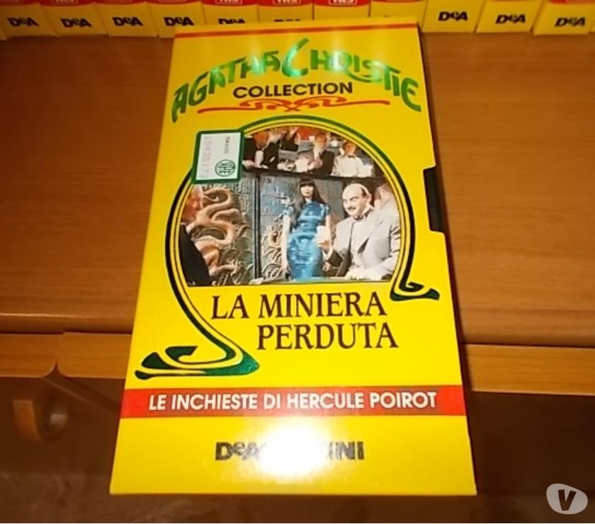compact disc dvd e videogames Reggio nell'Emilia e provincia Scandiano - Foto di Vivastreet.it Vhs categoria gialli di agatha christie