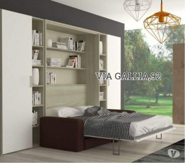 Foto di Vivastreet.it Letto a scomparsa matr. space prof. 39 divano- letti a roma