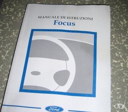 Foto di Vivastreet.it Manuale uso manutenzione Ford focus 2001-2005