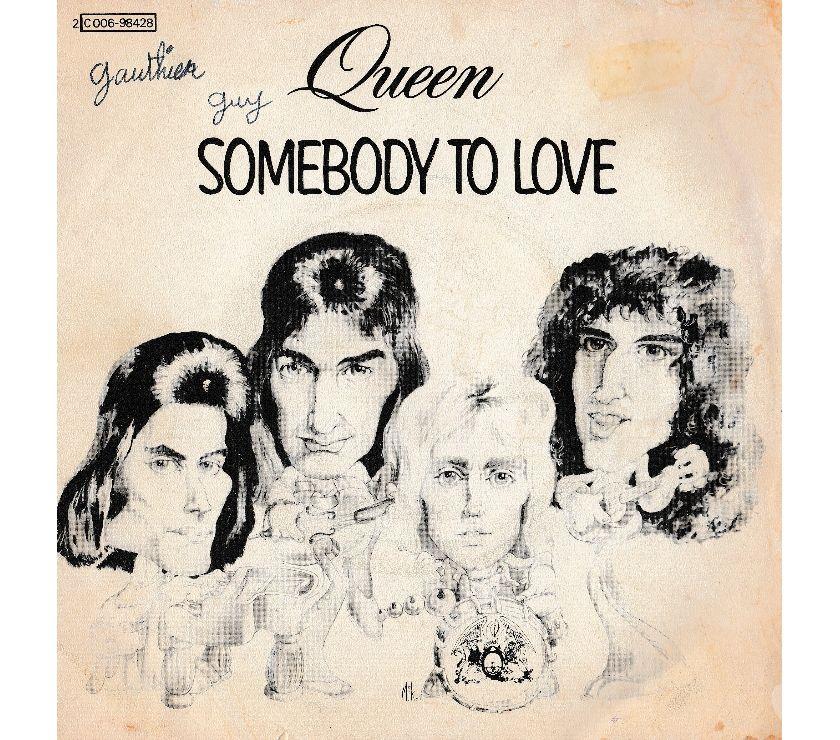 """compact disc dvd e videogames Palermo e provincia Palermo - Foto di Vivastreet.it QUEEN - Somebody To Love - White Man - 7"""" 45 giri 1976 EMI"""