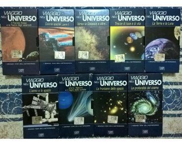 Foto di Vivastreet.it DOCUMENTARI IN VIDEOCASSETTE ORIGINALI:VIAGGIO NELL'UNIVERSO