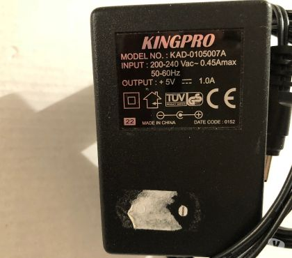 Foto di Vivastreet.it alimentatoreadattatore KINGPRO Modello KAD-0105007A