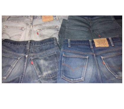 incontri vintage Wrangler jeans