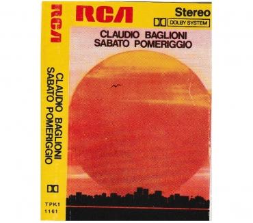 Foto di Vivastreet.it CLAUDIO BAGLIONI - Sabato Pomeriggio - Cassette,Tape,MC,K7