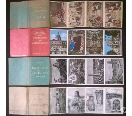Foto di Vivastreet.it Santuario - lotto di 4 libretti 70 cartoline