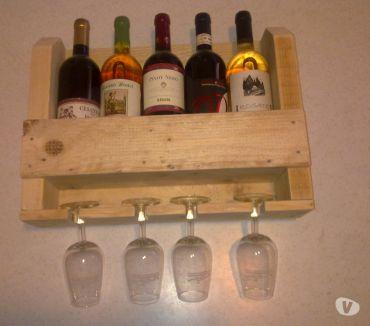 Foto di Vivastreet.it Porta bottiglie legno fatto a mano con pallet in legno