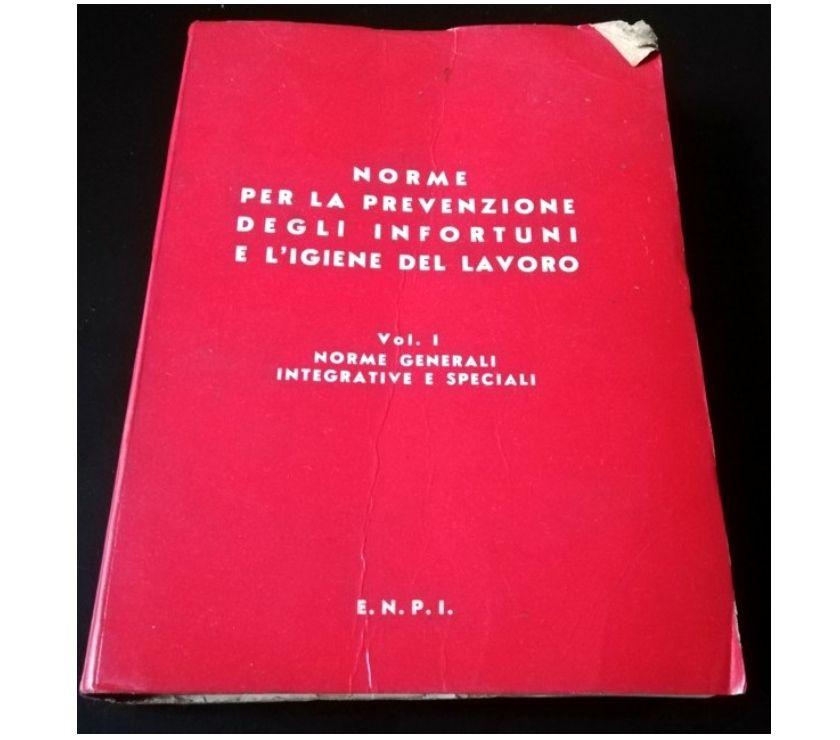 Foto di Vivastreet.it ENPI 1978 - Norme per la prevenzione infortuni..vol.1