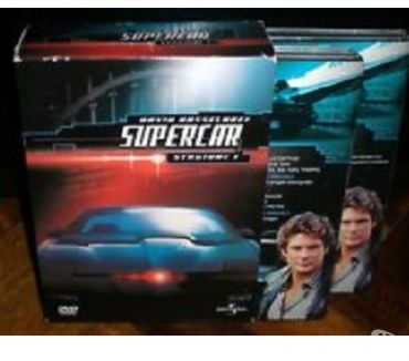 Foto di Vivastreet.it Dvd originali serie tv completa SUPERCAR 4 stagioni