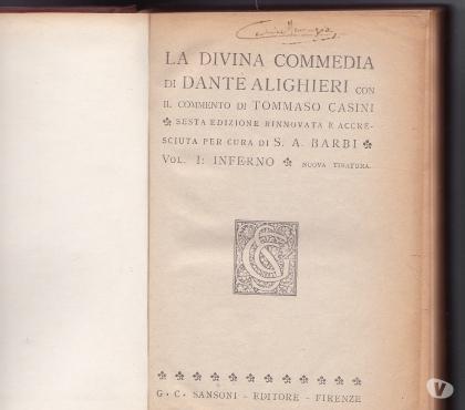 Foto di Vivastreet.it 1943 51 56 LA DIVINA COMMEDIA 3 VOL INFERNO PURGATORIO PARA