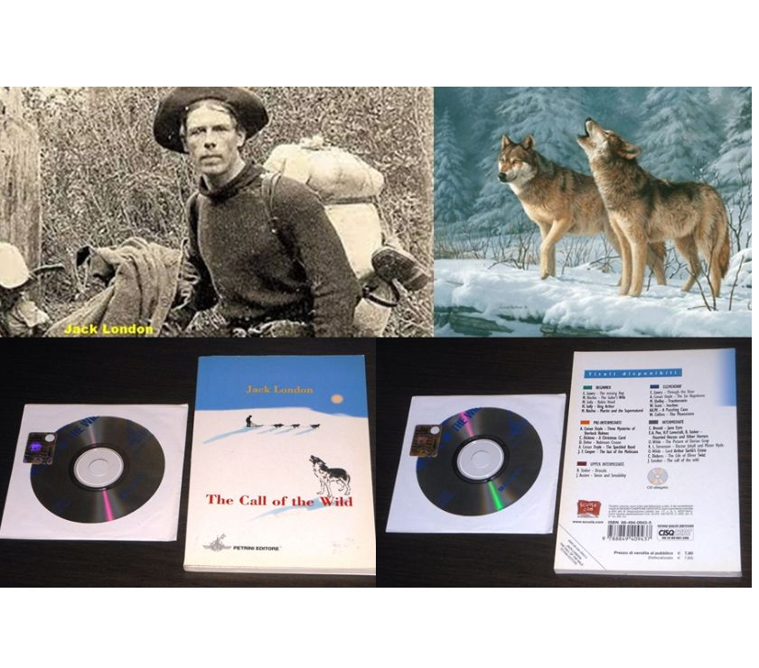 Foto di Vivastreet.it The call of the wild, Jack London, Petrini 2007, + CD.