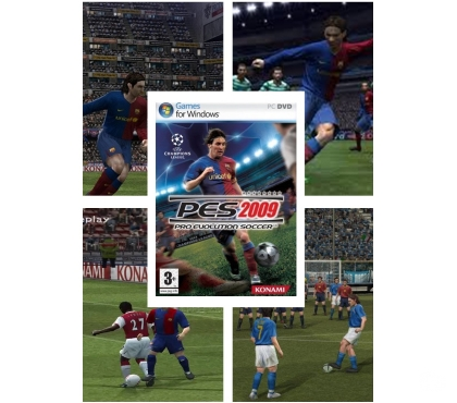 Foto di Vivastreet.it PES 2009, PRO EVOLUTION SOCCER,PC DVD,GAMES FOR WINDOWS,UEFA