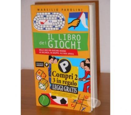 Foto di Vivastreet.it IL LIBRO dei GIOCHI, M. PAROLINI, Ed. PIEMME POCKET 2002.