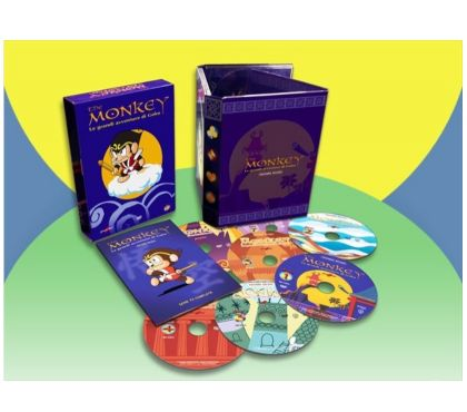 Foto di Vivastreet.it The Monkey serie animata completa in dvd