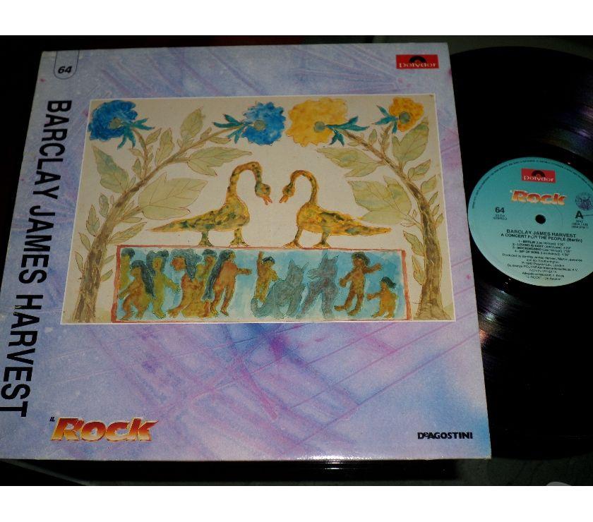 compact disc dvd e videogames Palermo e provincia Palermo - Foto di Vivastreet.it BARCLAY JAMES HARVEST - A Concert For The People - LP 33 g