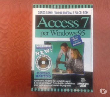 Foto di Vivastreet.it CORSO SU CD-ROM DI ACCESS 7 PER WINDOWS 95
