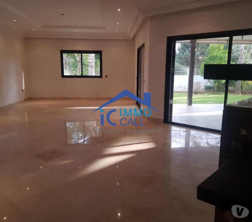 Location Appartement - Maison Rabat - Photos pour VILLA de 1000 m² au quartier SOUISSI
