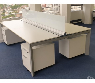 Photos pour bureau open space bench 4 personnes