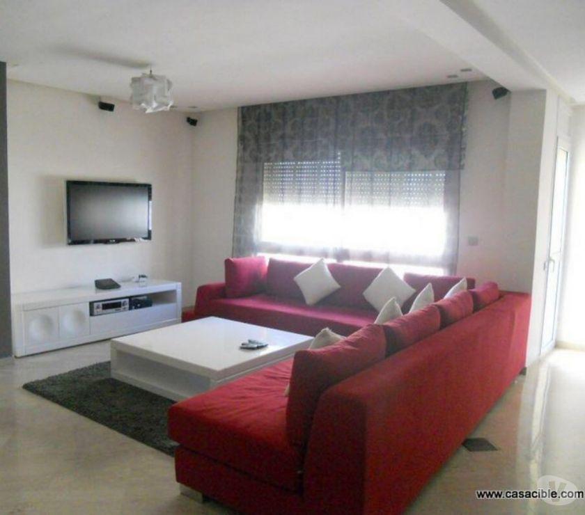 Location Meublée Casablanca - Photos pour Maarif: Location appartement meublé de 2 chambres.