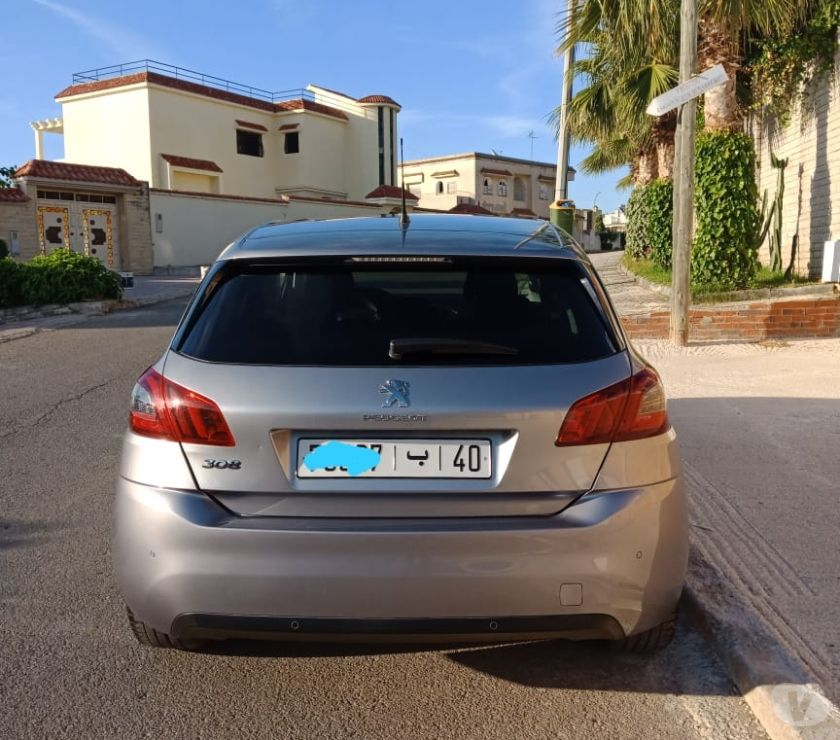 Voiture Occasion Tanger - Photos pour PEUGEOT 308 1.6 HDI 92ch