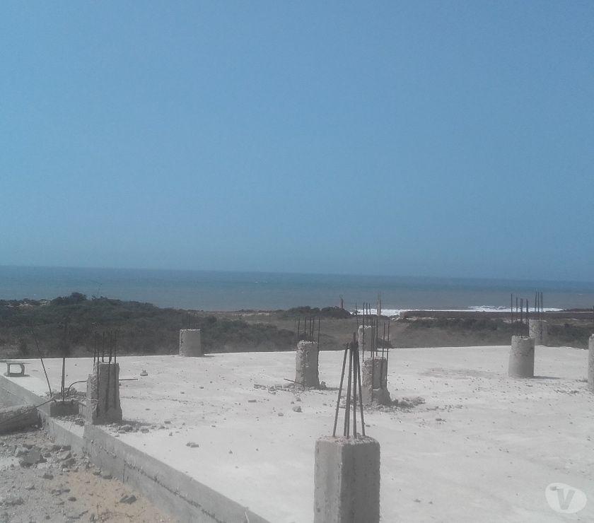 Terrain à Vendre Essaouira - Photos pour Terrain 10000m², 1ere ligne sur plage, Essaouira