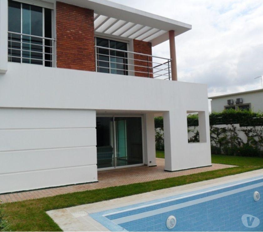 Location Appartement - Maison Rabat - Photos pour Villa moderne avec piscine à louer à souissi Rabat