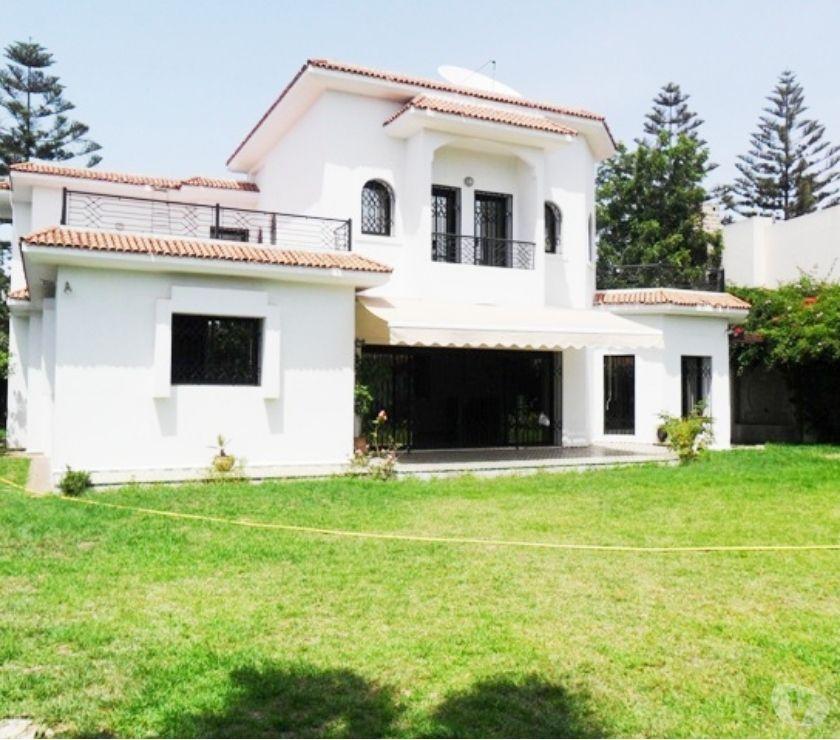 Location Appartement - Maison Rabat - Photos pour Location d'une belle villa d'architecte à Hay Riad