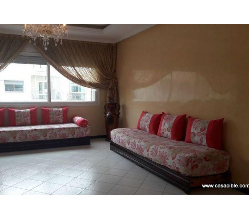Location Appartement - Maison Casablanca - Photos pour Val Fleuri: Location appartement vide de 145 m²,2 chambres.