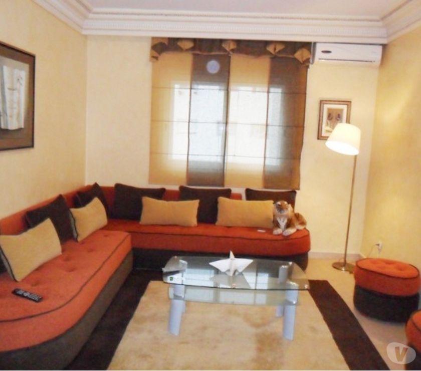 Location Meublée Rabat - Photos pour Appartement meublé à louer à Agdal