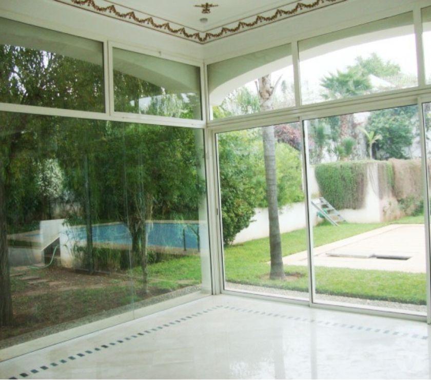Location Appartement - Maison Rabat - Photos pour Location villa moderne au quartier Souissi Rabat