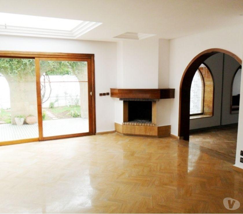 Location Appartement - Maison Rabat - Photos pour Villa chauffage central et climatisation à louer Souissi