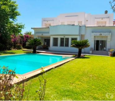 Photos pour Villa avec grand jardin à louer à Souissi RABAT