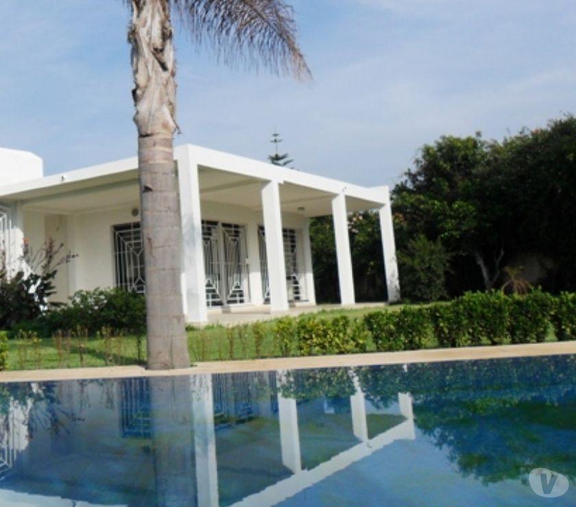 Location Appartement - Maison Rabat - Photos pour Location villa avec piscine au quartier Souissi RABAT