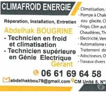 Photos pour Réparation Frigo et Climatisation et Électricité