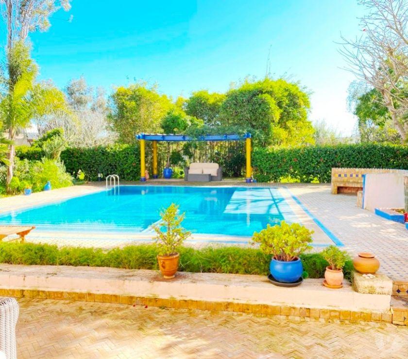Location Appartement - Maison Skhirat - Photos pour Location villa avec piscine à la plage de skhirat