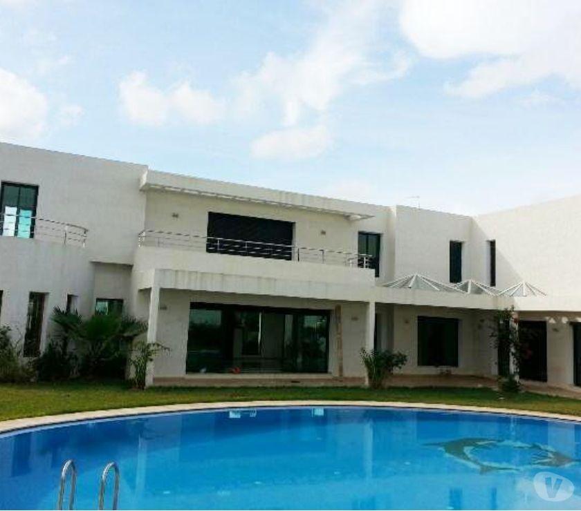 Location Appartement - Maison Rabat - Photos pour Villa neuve haut standing à louer à Souissi