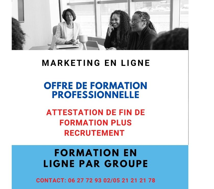 Formation Professionnelle Casablanca - Photos pour MARKETING EN LIGNE
