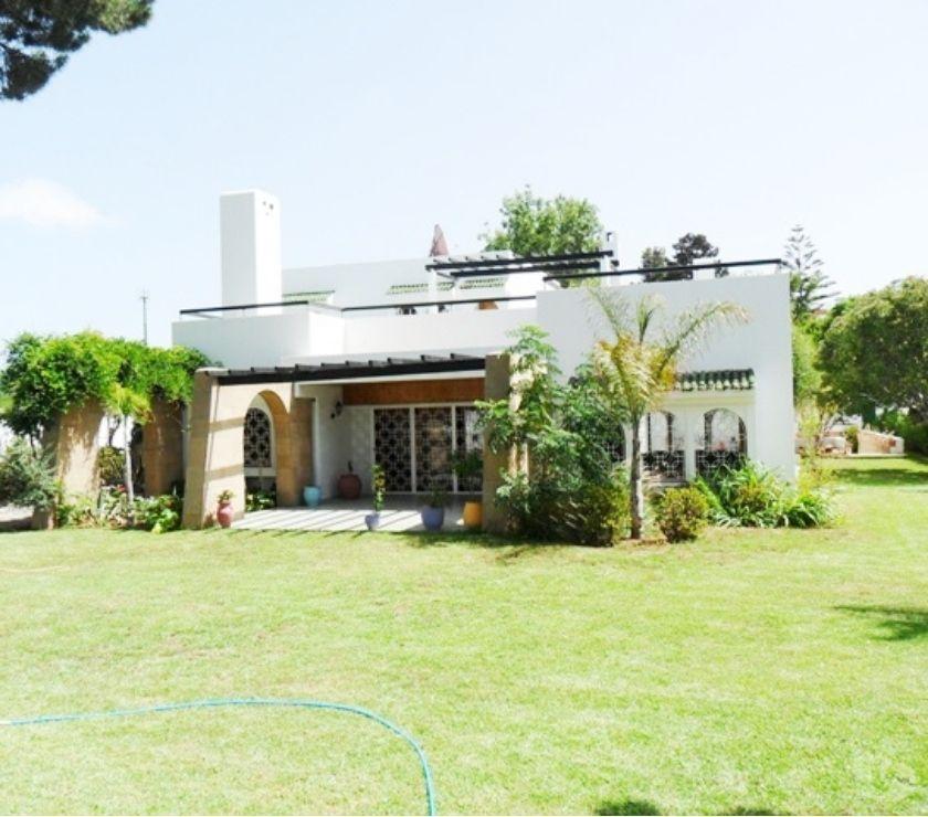 Location - Vente Bureaux Rabat - Photos pour A louer à Rabat villa à usage bureau au quartier Souissi