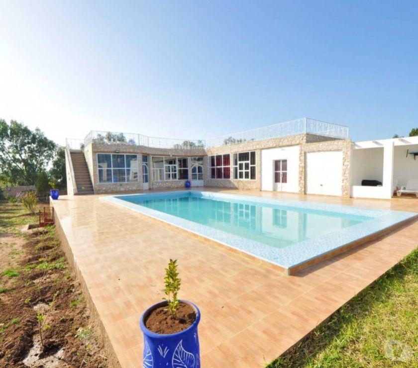 Vente Appartement - Maison Essaouira - Photos pour Villa avec piscine sur la route de Safi
