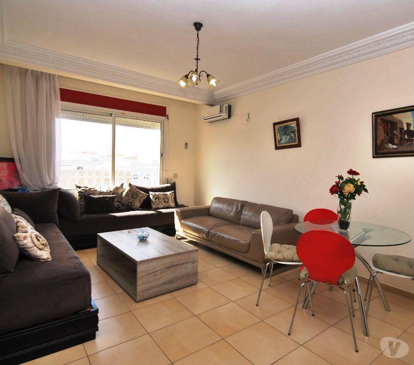 Location Meublée Agadir - Photos pour Bel appartement meublé 3 chambres à Al Houda
