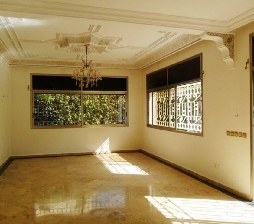 Location Appartement - Maison Rabat - Photos pour Location villa avec chauffage central à Hay Riad