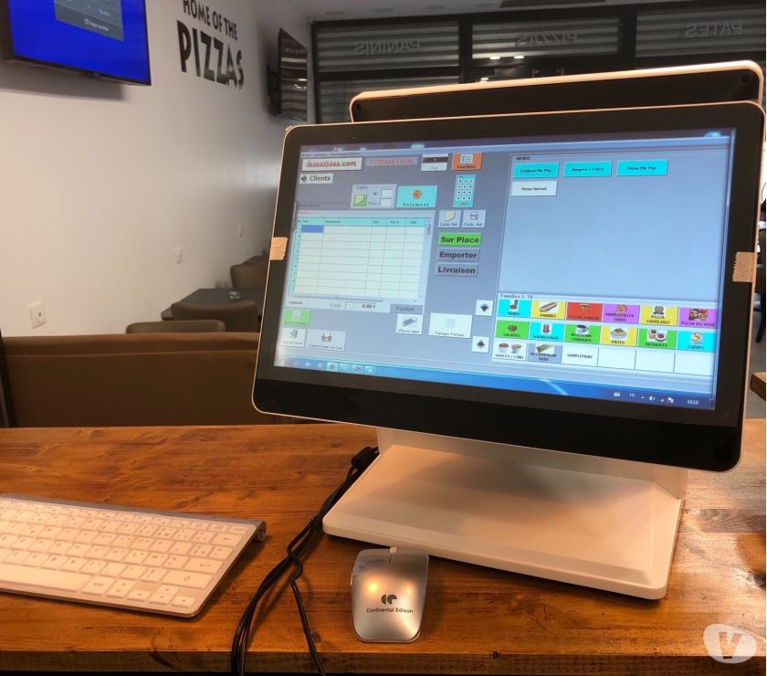 Ordinateur - PDA - Informatique Casablanca - Photos pour Logiciel caisse POS Pizzeria Caisse ou autres Activités