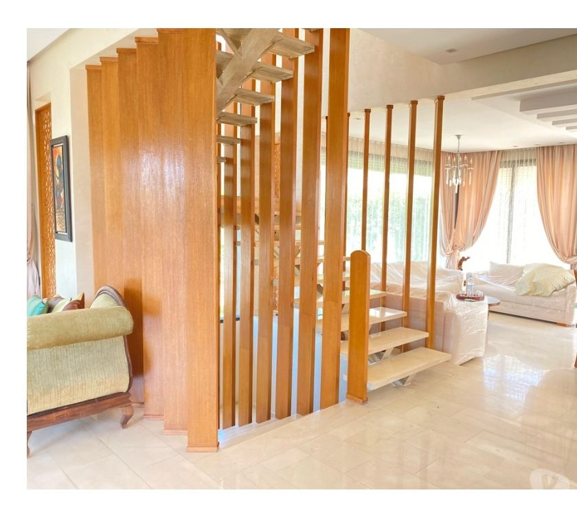 Location Meublée Temara - Photos pour Villa neuve haut standing avec terrasse vue sur mer Harhoura