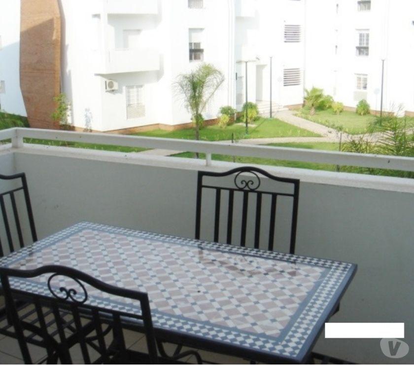 Location Meublée Rabat - Photos pour Appartement meublé avec terrasse à Bassatine Al Manzeh