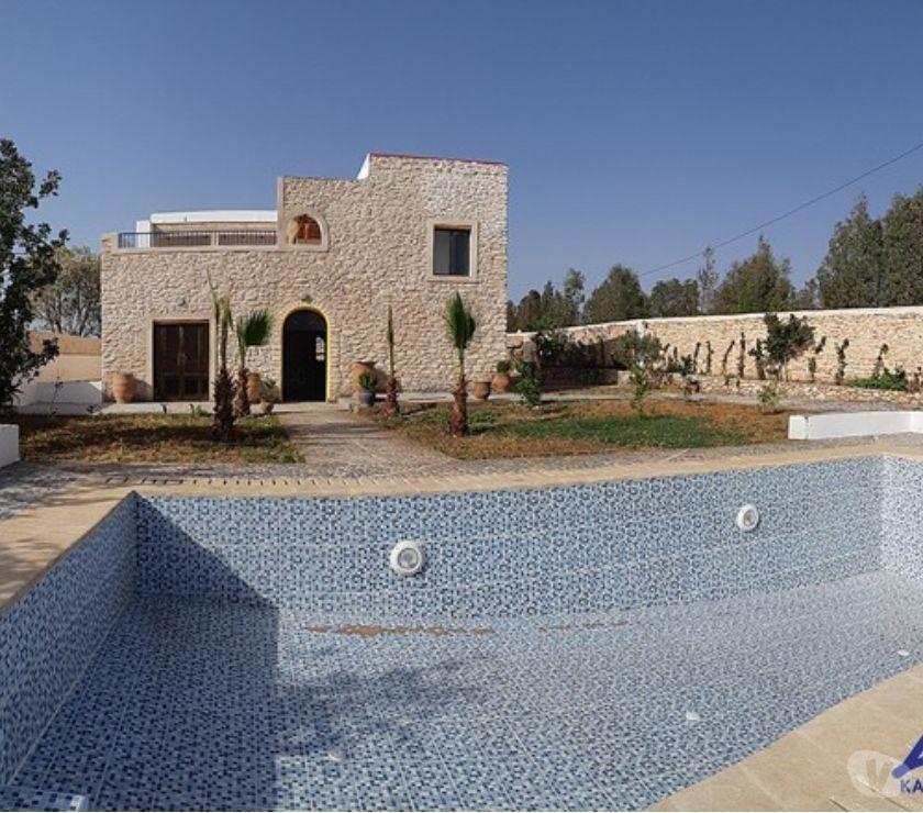 Location Appartement - Maison Essaouira - Photos pour VILLA A LOUER SUR LA ROUTE DE SAFI