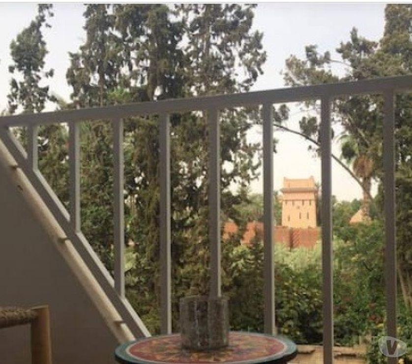 Location Meublée Marrakech - Photos pour T2 rue Yves Saint Laurent.dans Résidence gardée