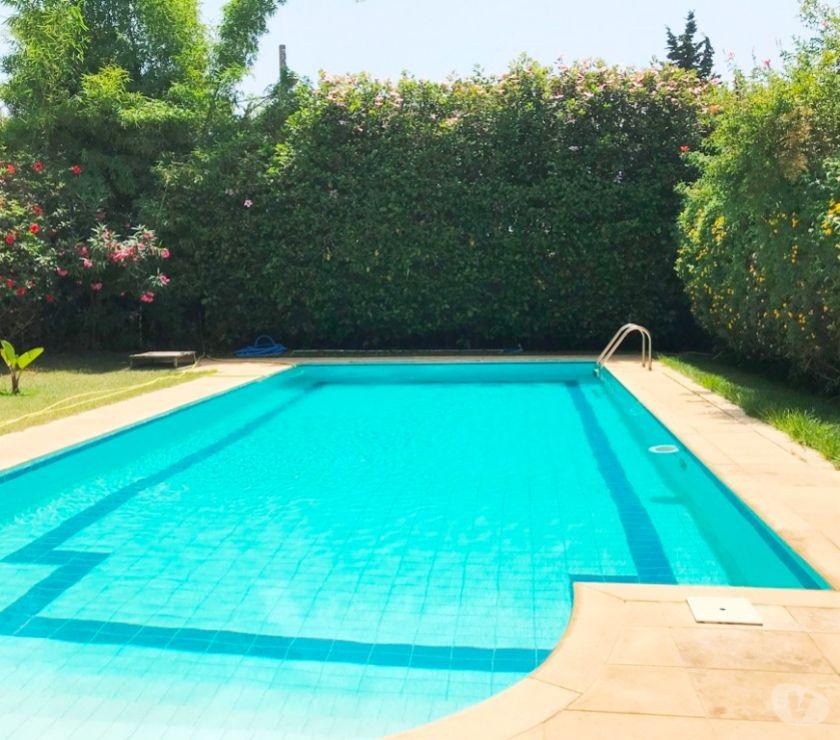 Location Appartement - Maison Rabat - Photos pour Location Villa avec piscine à Souissi RABAT