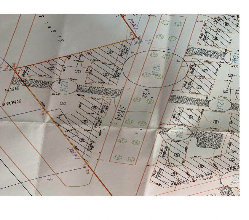 Terrain à Vendre - Photos pour Terrain , 260 m2, Titré , R+4 commerce, Skhirate centre