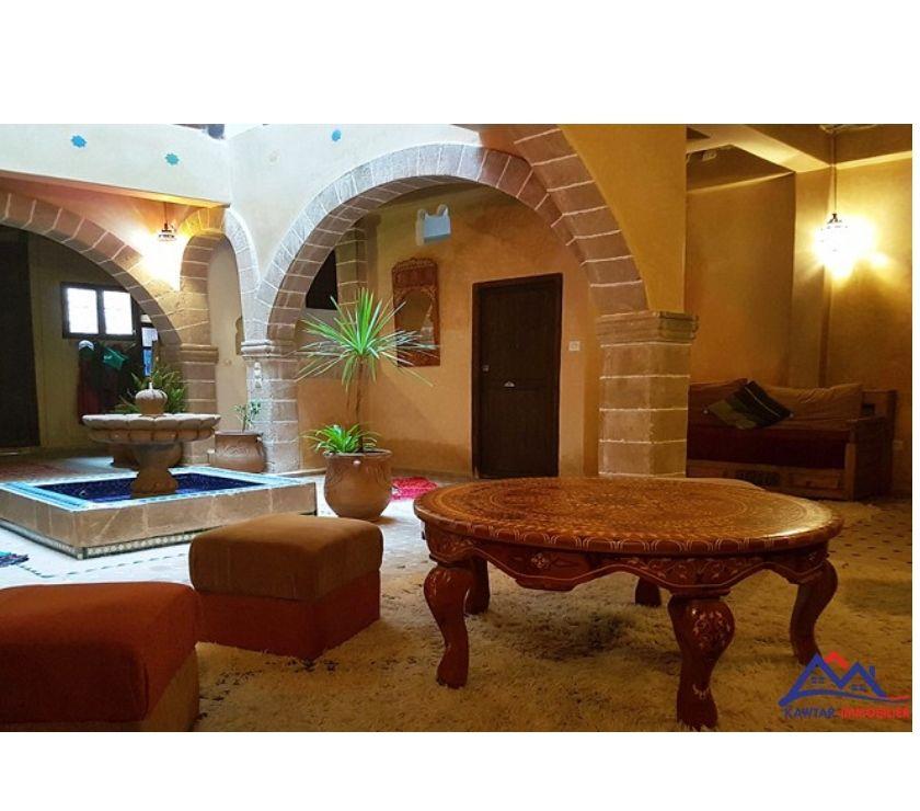 Vente Appartement - Maison Essaouira - Photos pour Agréable Riad traditionnellement rénové